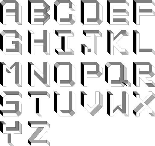 Невозможный алфавит