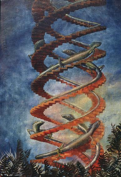 Спираль с ящерами Джорджа Молгора