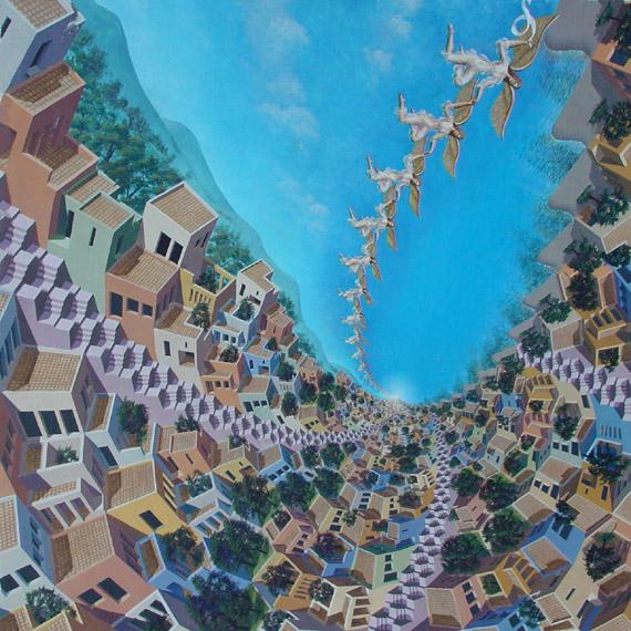 Мозаика из невозможных лестниц