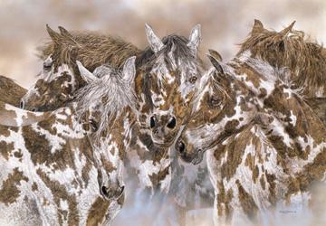 Лошади-холмы
