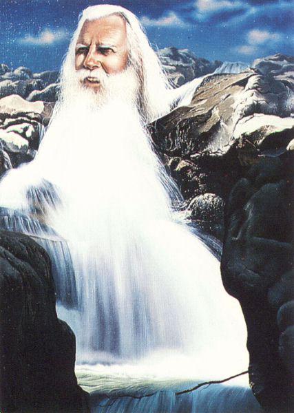 Борода-водопад