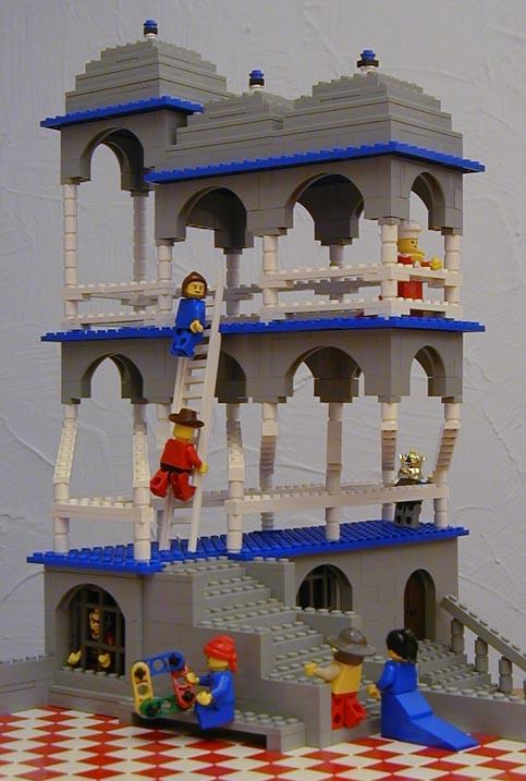 Бельведер из Lego
