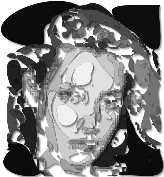 Мозаика лица