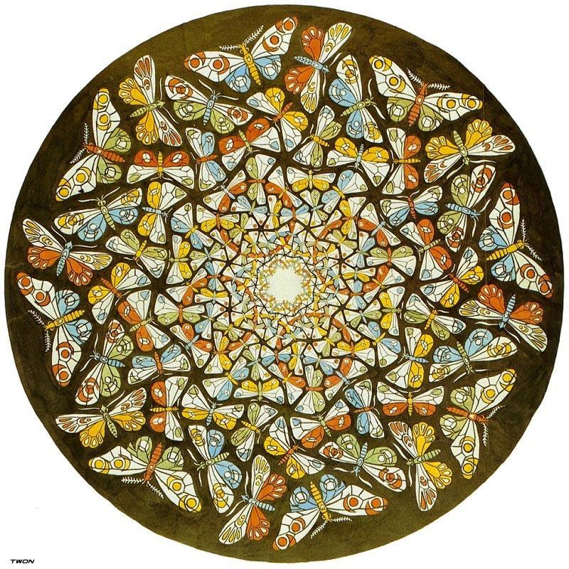 Мир бабочек Эшера
