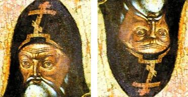 Святитель Митрофан и Петр I