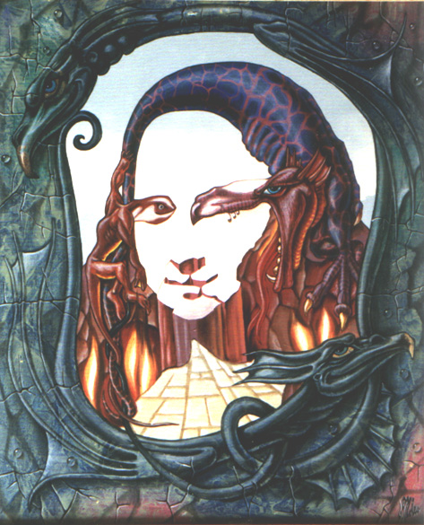 Мона Лиза (огонь)