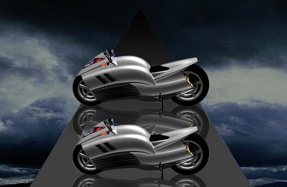 Мотоциклы имеют одинаковый размер