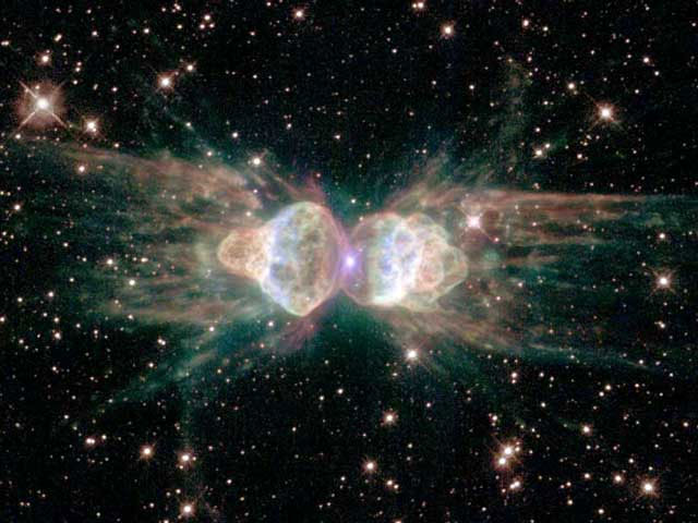 Планетарная туманность Mz3: туманность Муравей