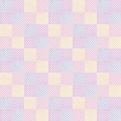Квадраты в пастельных тонах