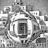 Escher, Balconies.