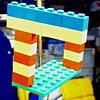 Невозможная конструкция из детского конструктора