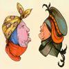 Картинки-оборотни из старинной немецкой книги