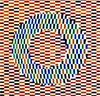 Иллюзия Оучи - стереограмма