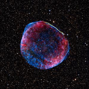 Взрыв сверхновой SN 1006