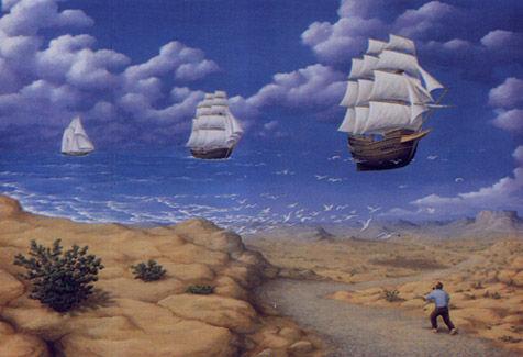 В поисках моря