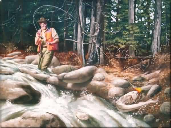 Рыбак и золотая рыбка: http://www.optical-illusions.ru/raspoznavanie-obrazov-rybak-i-zolotaya-rybka/