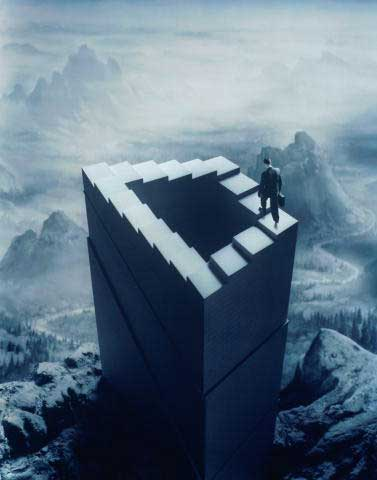 Optical Illusions Eyetricks Impossible Objects Endless Staircase