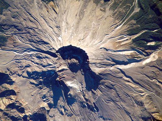 Извержение вулкана Святой Елены