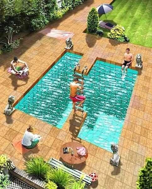 Невероятный бассейн (Roger Shepard)