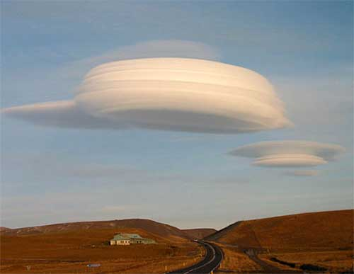 Облака пришельцев