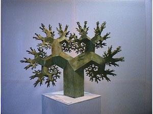 Математическое искусство - Дерево фрактала