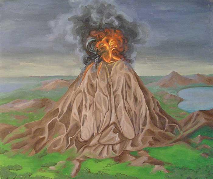 Проснувшийся вулкан