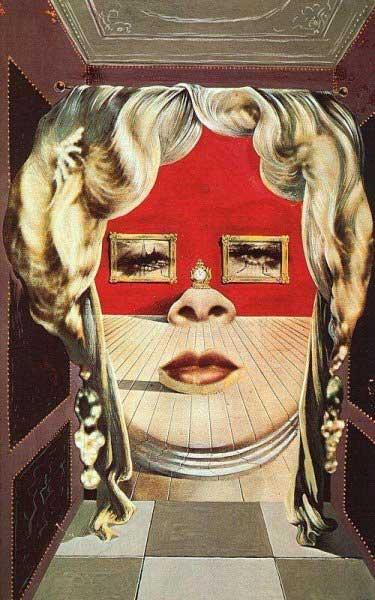 Mae West face (Salvador Dali)