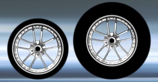 Разные одинаковые колеса
