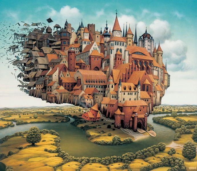 Абстрактный мир Яцека Йерки