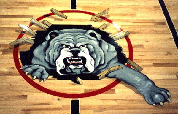 Иллюзия глубины в спортивном зале