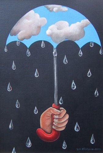 Зонтик дождя