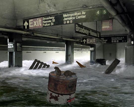 метро затопит сточными водами