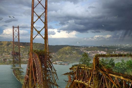 Разрушение мостов