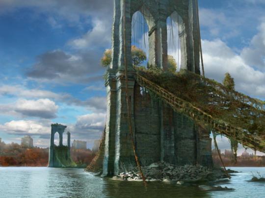 Большинство подвесных мостов по всему миру разрушится