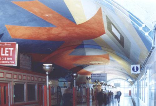 станция Воксхолл в Лондоне