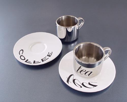 Анаморфозные кофейные чашки