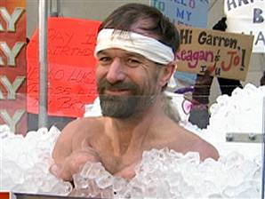 Wim Hof (Iceman )