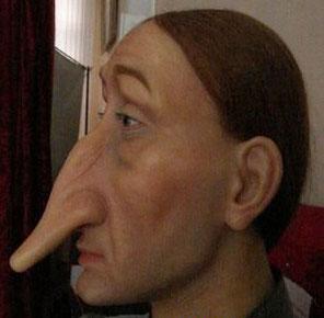 Самый длинный нос. Фигура, созданная по образу немецкого дворянина Густава фон Альбаха