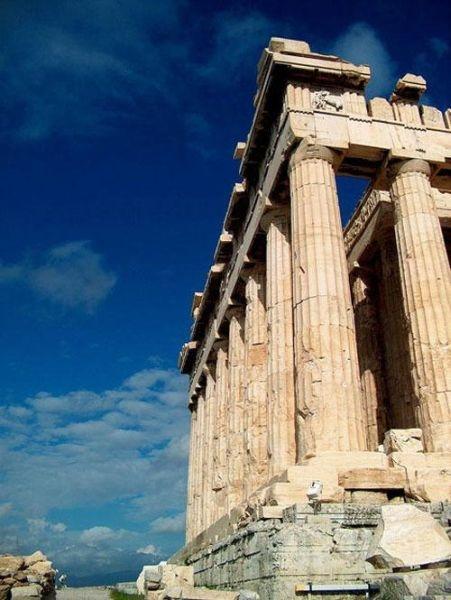 Парфенон, главный храм афинского Акрополя