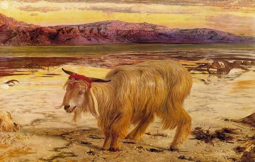 «Козёл отпущения». Картина Вильяма Хольмана Ханта, 1854