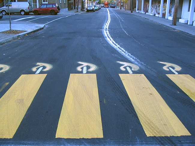 Дорожный креатив