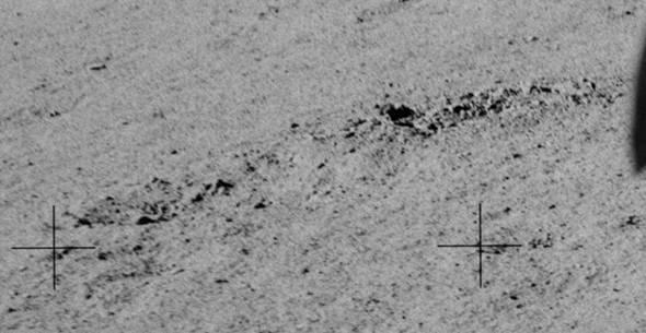 Аполлон-17. Фотографии следов.
