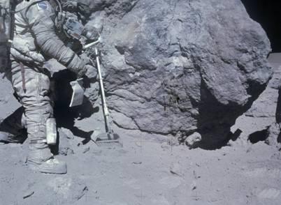 Фотография сделана астронавтами Аполлон-16