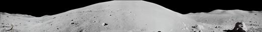 Панорама кратера Нансен