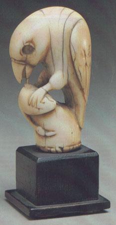 Ладья (рух). Фергана, IX-X вв. Слоновая кость.