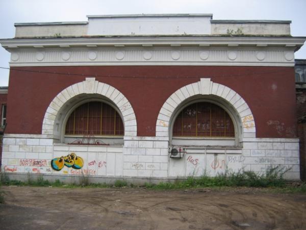 Утраченная станция метро Первомайская (1954г. - 1961г.) и Метродепо Измайлово в августе 2006 г