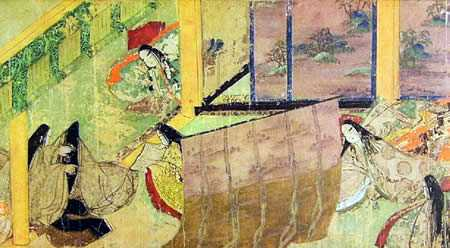 новелла «Tale of Genji»