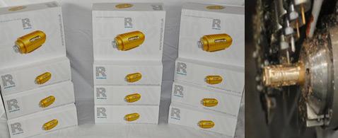 Первые 12 серийных Revomaze Blue были проданы через интернет-аукцион eBay. Несмотря на название простейшей модели, на коробках нарисована