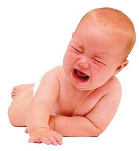 плач новорожденных с первых дней жизни обладает признаками языка, на котором говорят их родители