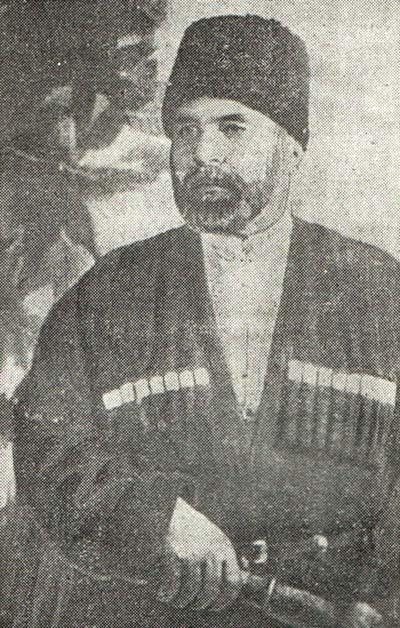 Знаменитый карачаевский князь Бекмурза Байчеров